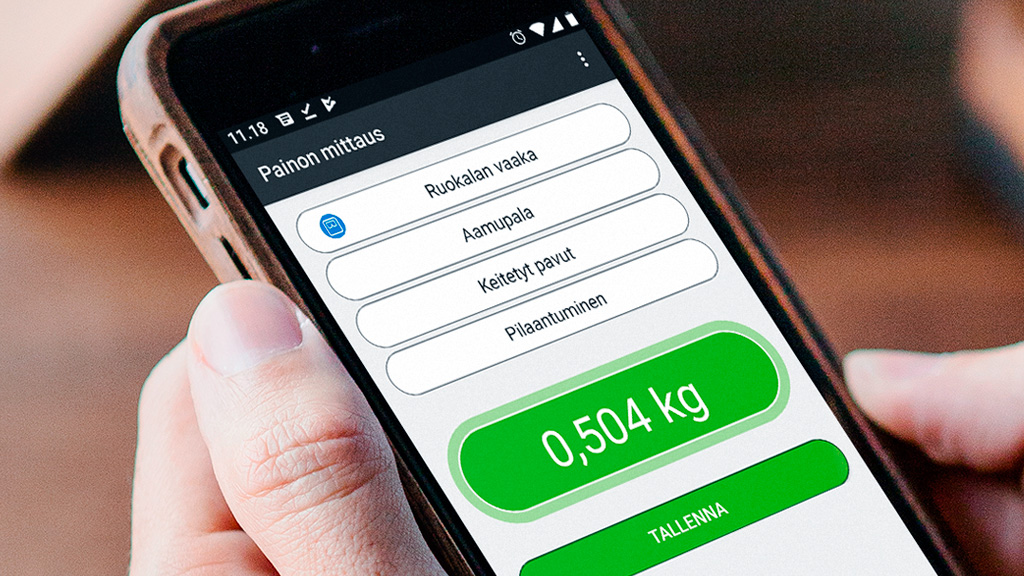 Ruokahävikin mittaaminen