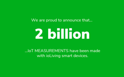 ioLiving crossed the 2 billion mark