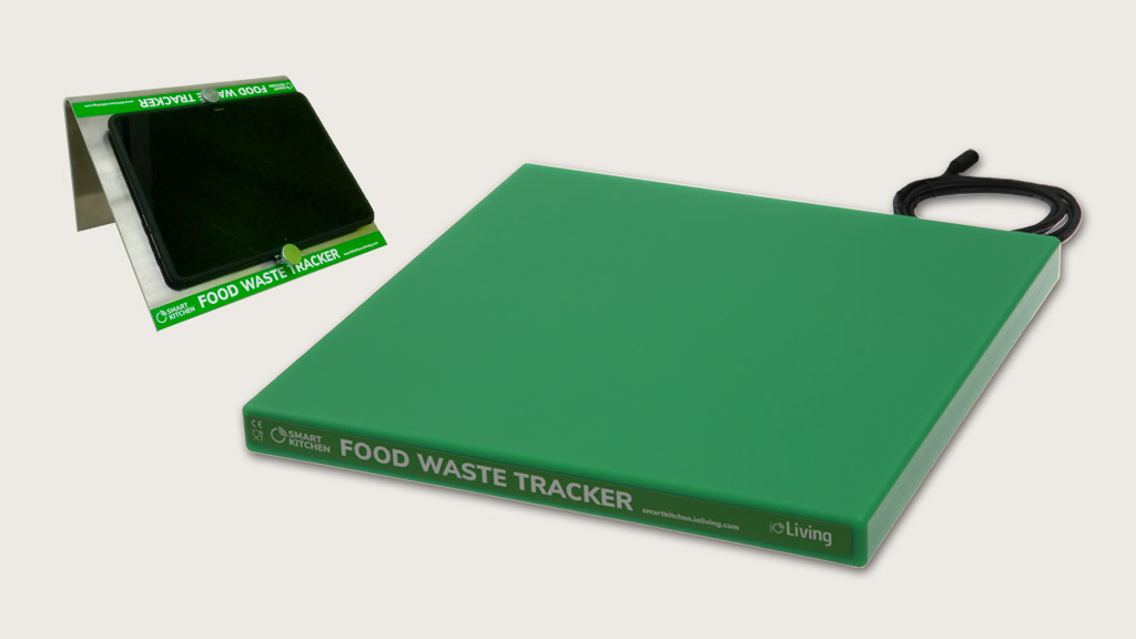 Waste Scale with touchscreen for food waste tracking