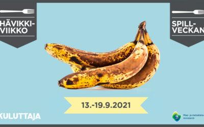 Tekoja ruokahävikin pienentämiseksi läpi vuoden